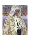 Easter Sunday (In Bradant, the Bride), C.1904 Giclee Print by George Hitchcock