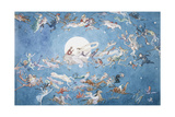 A Dance Round the Moon Giclee Print by Charles Altamont Doyle