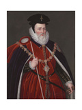 William Cecil, Lord Burghley (1520-1598) Giclee Print by Henry Bone