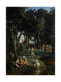 Silenus, 1838 Giclee Print by Jean Baptiste Camille Corot