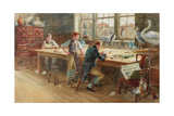 The Master Engraver, 1896 Giclee Print by John Eyre