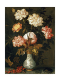 A Vase of Flowers Giclee Print by Balthasar van der Ast