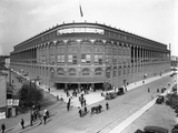 High-Angle View of Ebbets Field, Brooklyn, September 2, 1914 Photographic Print by William Davis Hassler