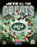 New York Jets All Time Greats Composite Fotografía