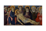 The Lamentation of Christ, C.1500 Giclee Print by Guidoccio Di Giovanno Cozzarelli