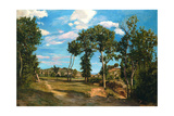 Landscape by the Lez River, 1870 Giclee Print by Jean Frederic Bazille
