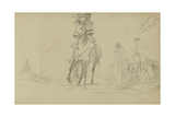 Study for 'Dawn of Waterloo', 1893 Giclee Print by Lady Butler