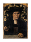 Portrait of a Young Man, 1501-50 Giclee Print by Bartholomaeus Bruyn