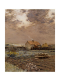 Landscape, C.1880 Giclee Print by Jean-Charles Cazin