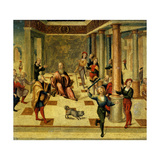Scene from Roman History Giclee Print by Niccolo the Younger Giolfino