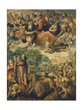The Temptation of Saint Antonio Giclée-Druck von Maarten de Vos