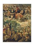 The Temptation of Saint Antonio Giclee Print by Maarten de Vos
