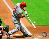 Mike Trout 2011 Action Photo