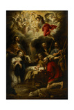 The Adoration of the Shepherds, 1657 Giclee Print by Jan Cossiers