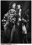 Jagger And Richards- Koln, Germany 1976 - Poster