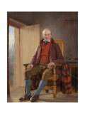 A Northumbrian Farmer, C.1820-34 Giclee Print by Thomas Sword Good