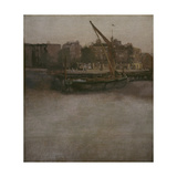 Symphony in Grey and Brown (Lindsey Row, Chelsea), C.1834-1948 Giclee Print by James Abbott McNeill Whistler