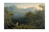 Edwin and Angelina, 1816 Giclee Print by John Martin