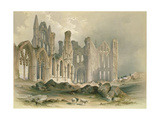 Whitby Abbey from the North-East Giclee Print by William Richardson