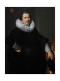 Portrait of Paulus Moreelse (1571-1638). Netherlands Giclee Print by Paulus Moreelse