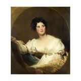Mrs Littleton, C.1822 Giclée-tryk af Thomas Lawrence