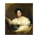 Mrs Littleton, C.1822 Giclee Print by Thomas Lawrence