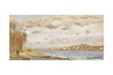 The Seine at Argenteuil; La Seine a Argenteuil, 1872 Giclee Print by Claude Monet