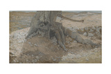 The Axe in the Trunk of the Tree from 'The Life of Our Lord Jesus Christ' Giclee Print by James Jacques Joseph Tissot