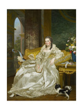 The Comtesse D'Egmont Pignatelli in Spanish Costume, 1763 Giclee Print by Alexander Roslin