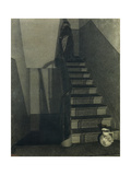 Staircase Giclee Print by Xavier Mellery