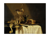 Still Life with Nautilus Goblet, 1642 Giclee Print by Willem Claesz. Heda