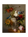 An Arrangement with Flowers, 19th Century Giclee Print by Georgius Jacobus Johannes van Os