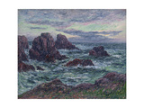 The Evening at Ouessant; Le Soir a Ouessant Giclee Print by Henry Moret