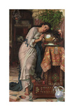 Isabella and the Pot of Basil, 1868 Giclee Print by William Holman Hunt