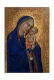 Madonna and Child, C.1330 Giclée-tryk af Pietro Lorenzetti