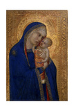Madonna and Child, C.1330 Giclee Print by Pietro Lorenzetti