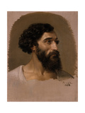 Head of a Roman, 1854 Giclee Print by Emil Jacobs