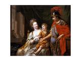 Hectors Departure, 1776 Giclee Print by Johann Heinrich Wilhelm Tischbein