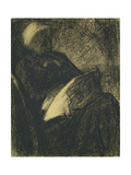 Embroiderer, 1882 Giclee Print by Georges Seurat