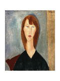 Portrait of an Unknown Model Giclee Print by Amedeo Modigliani
