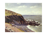 Lady's Cove - Langland Bay - Morning, 1897 Giclee Print by Alfred Sisley