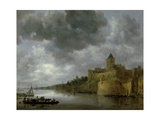 The Valkhof in Nymwegen, 1642 Giclee Print by Jan Josephsz. Van Goyen