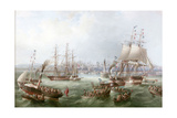 Opening of the South Outlet, Sunderland Docks, 1856 Giclee Print by Mark Thompson