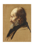 Portrait of Thomas Dixon, 1879 Giclee Print by Alphonse Legros