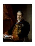 Portrait of Juan Miguel De Grigalba, C.1835 Giclee Print by Vicente Lopez y Portana