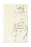 Portrait of a Woman, 1913 Giclee Print by Egon Schiele