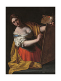 Allegory of Painting Giclee Print by Alessandro Turchi