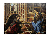The Annunciation Giclee Print by Piero Del Pollaiolo