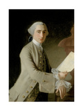 Portrait of James Adam, 1754 Giclee Print by Allan Ramsay