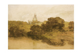 A View of Fonthill Abbey, Wiltshire Giclee Print by Joseph Mallord William Turner